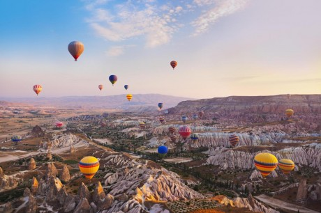 Hot Air Balloon Tour In Cappadocia Turkey